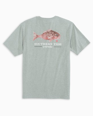 Southern Tide Gyotaku Rock Fish T-Shirt