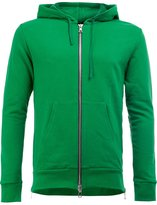 Balmain side zip hoodie - men - Cotton - XL