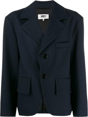 MM6 MAISON MARGIELA single-breasted oversized blazer