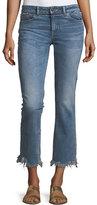 DL1961 Mara Ankle Straight Jeans w/ Distressed Hem