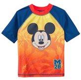 Disney Boys' Mickey Mouse Rashguard (2T4T) - 8147443