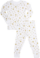 Skylar Luna Star-Print Sleep Set