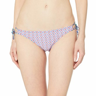 Captiva Women's Beach Keyhole Hipster Bikini Bottom with Adjustable Sides