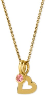 """Sarah Chloe Love Count Layered Charm Pendant Necklace in 14k Gold-Plate Over Sterling Silver, 16"""" + 2"""" extender"""