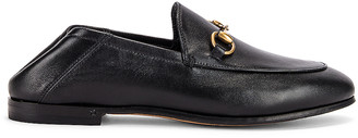 Gucci Leather Horsebit Loafers in Black | FWRD