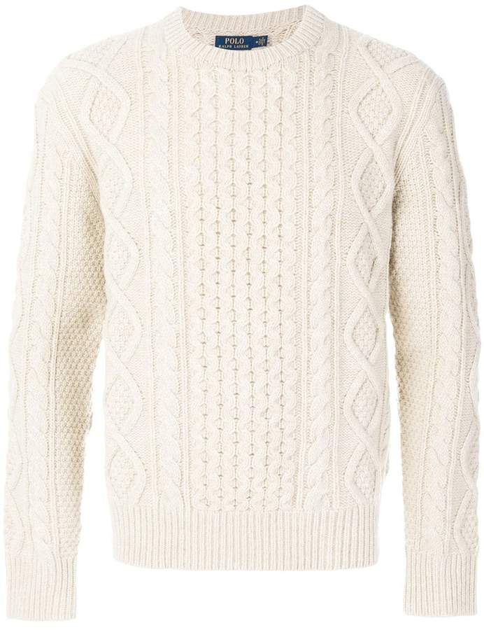 Polo Ralph Lauren chunky knit jumper