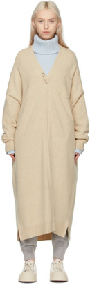 Extreme Cashmere Beige N61 Koto Cardigan