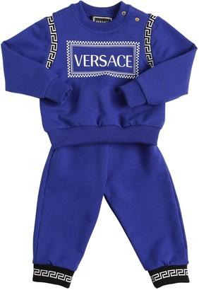 Versace Cotton Sweatshirt & Sweatpants