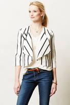 Anthropologie Cartonnier Nelly Draped Blazer