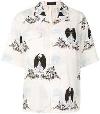 Undercover All-Over Print Short-Sleeve Shirt