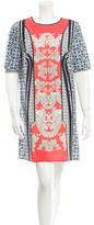Clover Canyon Printed Short Sleeve Mini Dress w/ Tags