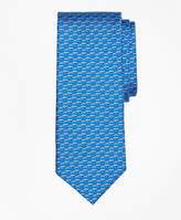 Brooks Brothers Speed Boat Print Tie