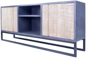 Overstock Nova 2-Door, 2-Shelf Media Cabinet