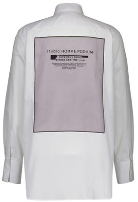 Givenchy Cotton shirt with studio patch