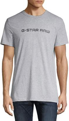 G Star Raw Logo Crewneck Tee