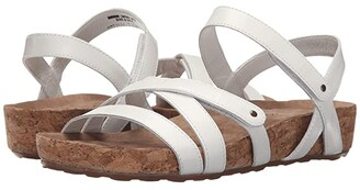 Walking Cradles Pool (White Cashmere/Cork Wrap) Women's Sandals