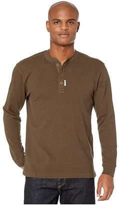 Wolverine Heritage Grant Henley (Charcoal) Men's Clothing