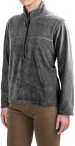 Colorado Clothing Fleece Jacket- Zip Neck, Long Sleeve (For Women)