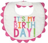 Mud Pie Brthday Bib - Pink