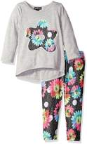 Limited Too Little Girls' 2 Piece Set Long Sleeve Top and Legging Pant