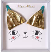 Meri Meri CAT EAR GOLD HAIR CLIPS