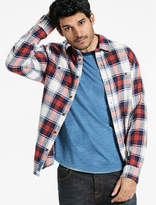 Lucky Brand Saturday Stretch Workwear Flannel Shirt