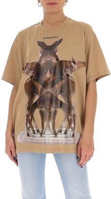 Burberry Graphic Print T-Shirt
