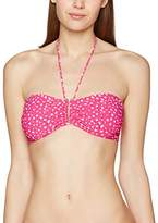 Triumph Women's Painted Tulum W 02 Bikini Top, Multicoloured (PINK - LIGHT COMBINATION)