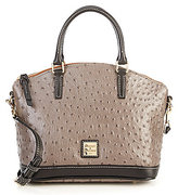 Dooney & Bourke Ostrich Collection Toni Satchel