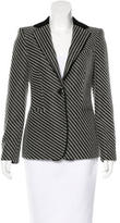 Giorgio Armani Wool-Blend Striped Blazer