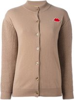 Peter Jensen textured sleeve cardigan