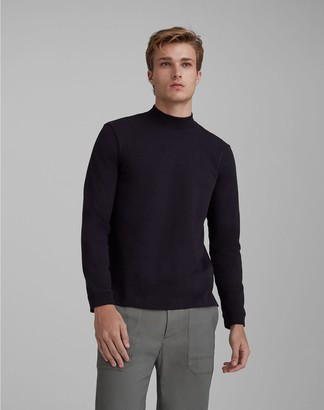 Club Monaco Long-Sleeve Mockneck Tee