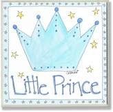 Stupell Industries The Kids Room by Stupell Little Prince with Crown Square Wall Plaque