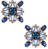 Kate Spade Rose Gold-Tone Multi-Crystal Stud Earrings