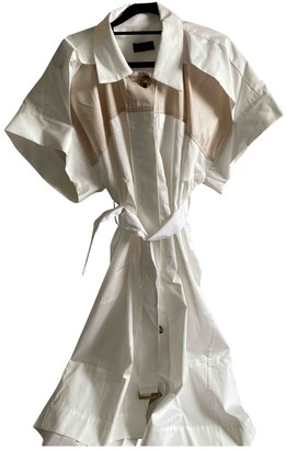 Eudon Choi White Cotton Dress for Women
