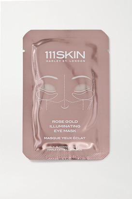 111SKIN Rose Gold Illuminating Eye Mask X 8
