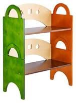 Guidecraft Kids Stacking Bookshelf - Natural