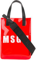 MSGM logo cross-body bag