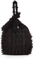 Simone Rocha Embellished tweed tote