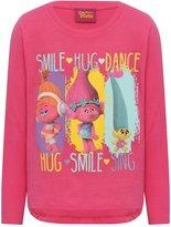 M&Co Trolls smile hug dance top