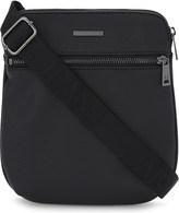 Armani Jeans Saffiano messenger bag