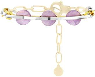 Kloto Ion.727 Lilac Amethyst & Gold Bracelet