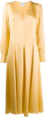 Forte Forte Satin Mid-Length Dress