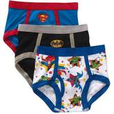 Superfriends Batman, Superman, Justice League Brief Underwear, 3 Pack (Toddler Boys)