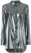 Alberta Ferretti metallic effect shirt