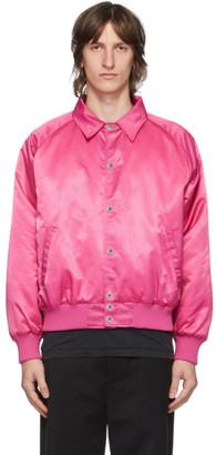 Stolen Girlfriends Club Pink Eyes Bomber Jacket