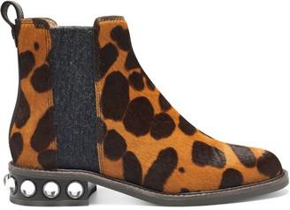Louise et Cie Venda3 Embellished-Heel Chelsea Boot