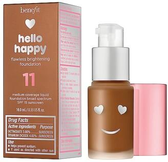 Benefit Cosmetics Mini Hello Happy Flawless Brightening Liquid Foundation