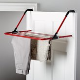 Crate & Barrel Brabantia ® Red Hanging Drying Rack