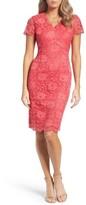Ellen Tracy Women's Lace Sheath Dress
